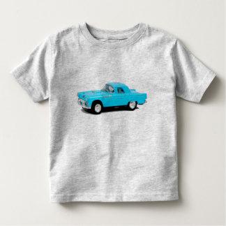 T-shirt dos miúdos com carro vintage