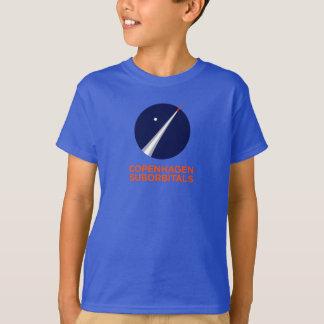 T-shirt dos miúdos com logotipo de Copenhaga