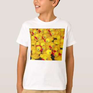 T-shirt ducky de borracha