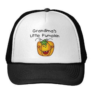 T-shirt e presentes da abóbora da avó poucos boné