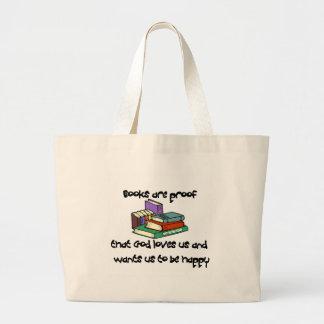 T-shirt e presentes da leitura bolsa de lona