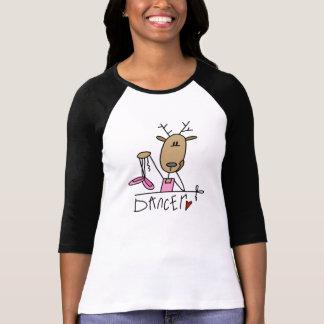T-shirt e presentes da rena do dançarino