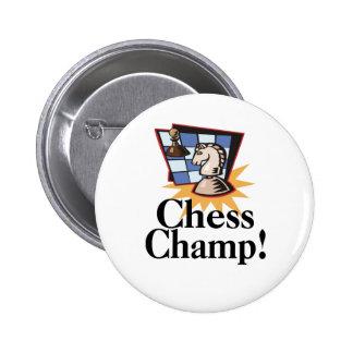 T-shirt e presentes da xadrez pins