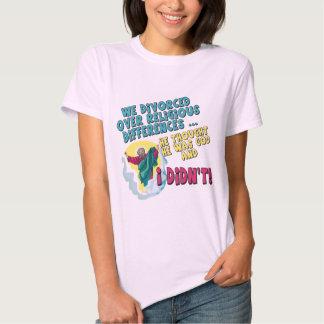 T-shirt e presentes divorciados engraçados para