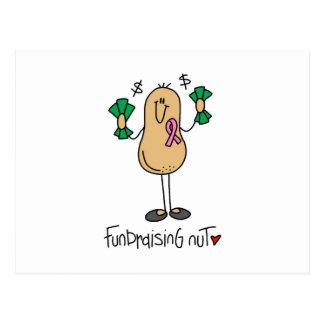 T-shirt e presentes Fundraising da porca Cartão Postal