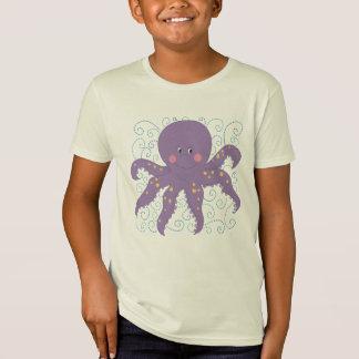 T-shirt e presentes roxos do polvo