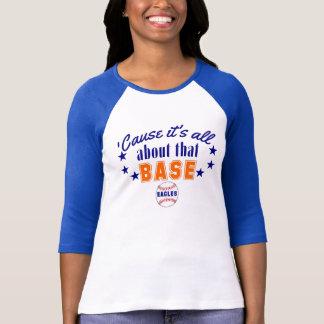 T-shirt É toda sobre essa bola EAGLES da base