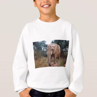 T-shirt Elefante africano no arbusto