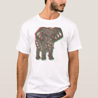 T-shirt Elefante prendido