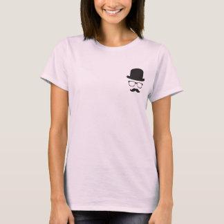 T-shirt elegante do hipster