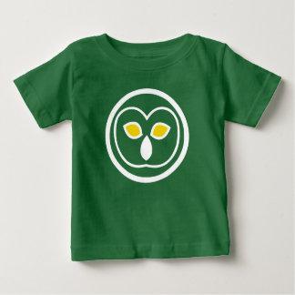 T-shirt Emblema da coruja de noite - luz