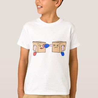 T-shirt Encaixotamento das caixas