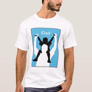 t-shirt engraçado do dia dos pais do iDad