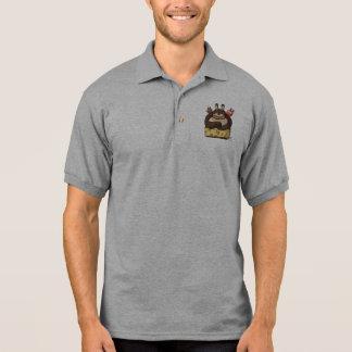 T-shirt engraçado do personagem de desenho animado