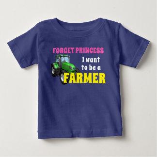 """T-shirt Engraçado """"eu quero ser um fazendeiro """""""