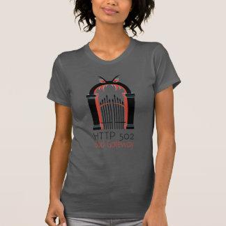 T-shirt Entrada do mau do HTTP 502