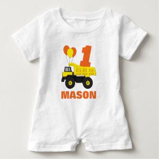T-shirt Equipamento do aniversário da construção primeiro,