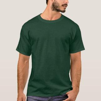 T-shirt escuro básico dos homens profundos lisos