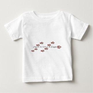 T-shirt Espanhol-Dragão