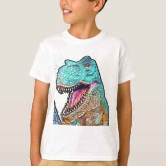 T-shirt espécie de pop Rex