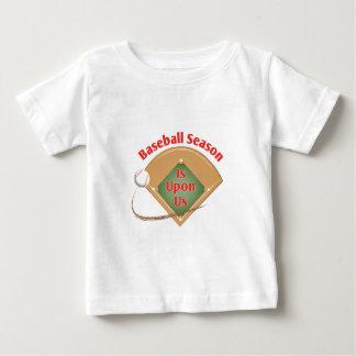T-shirt Estação de basebol