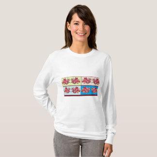 T-shirt Estilo de Lotus