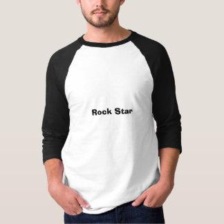 T-shirt Estrela do rock