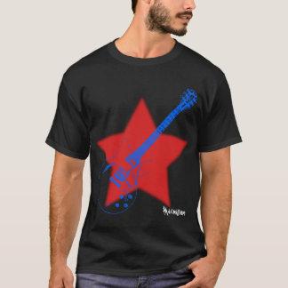 T-shirt Estrela do rock por Maximillion