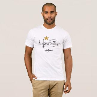 T-shirt Estúdios de Hollywood - estrela de cinema