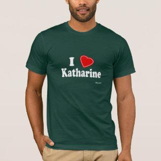 T-shirt Eu amo Katharine