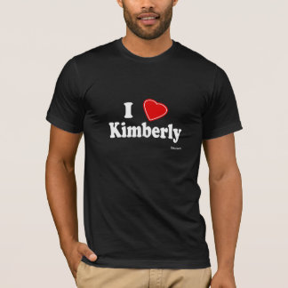 T-shirt Eu amo Kimberly