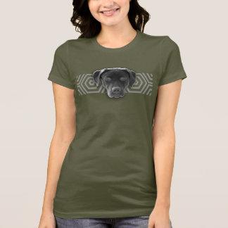 T-shirt Eu amo laboratórios - labrador retriever