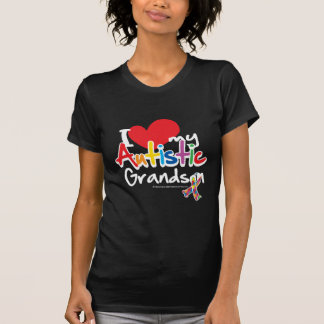 T-shirt Eu amo meu neto autístico