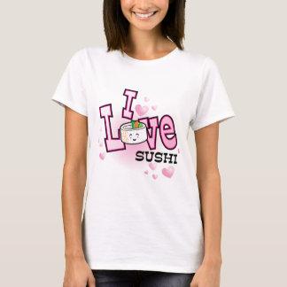 T-shirt Eu amo o sushi