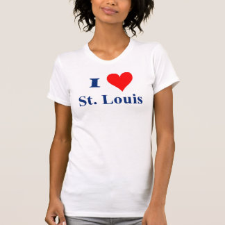 T-shirt Eu amo St Louis