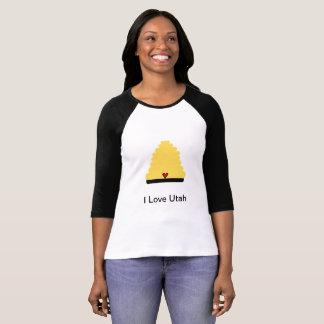T-shirt Eu amo Utá