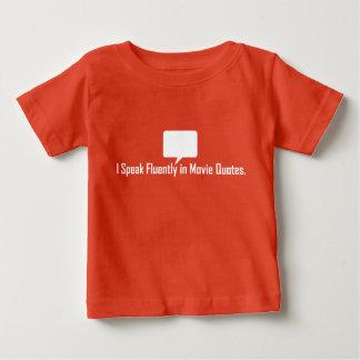 T-shirt Eu falo fluente no T das citações do filme