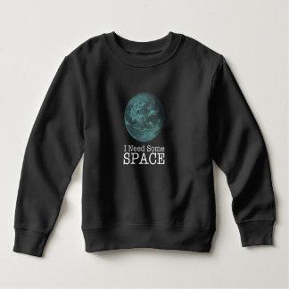 T-shirt Eu preciso alguma camisola da criança do espaço