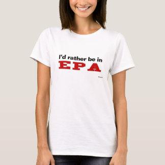 T-shirt Eu preferencialmente estaria em EPA