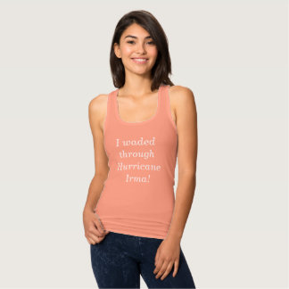 T-shirt Eu vadeei com o itálico do branco de Irma do