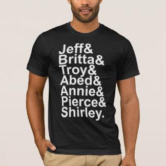 T-shirt experimental da comunidade de Jetset