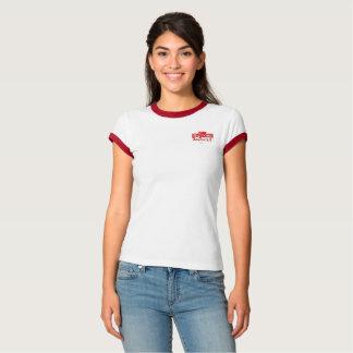 T-shirt F. à bordos em cor História Alsácia