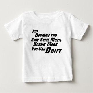 T-shirt F&F não pode derivar