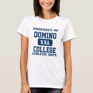 T-shirt Faculdade do dominó