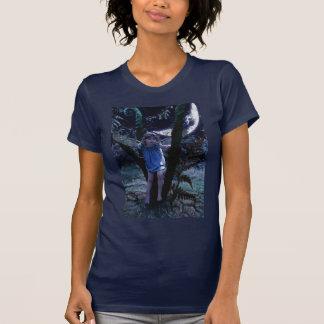 T-shirt feericamente com uma rima irlandesa