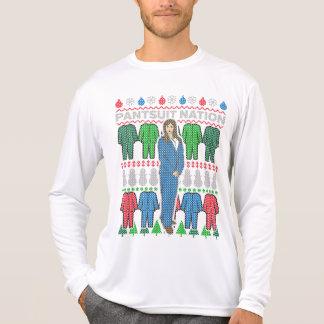 T-shirt feio da camisola do Natal da nação do