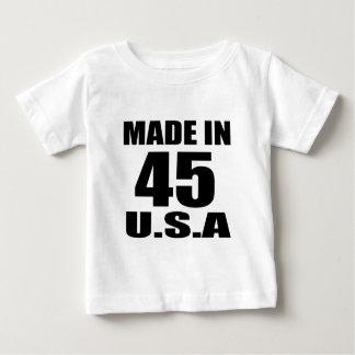 T-SHIRT FEITO EM 45 DESIGNS DO ANIVERSÁRIO DOS EUA