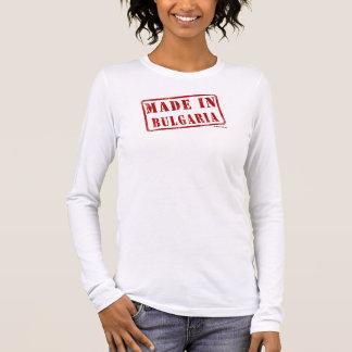 T-shirt Feito em Bulgária