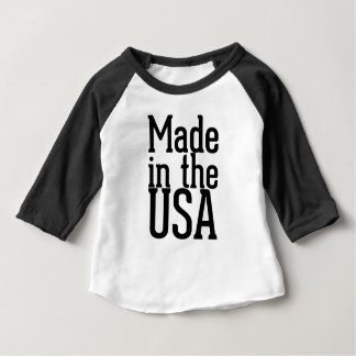 T-shirt Feito nos EUA