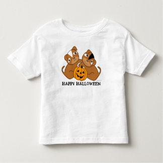T-shirt feliz 4 do filhote de cachorro do Dia das